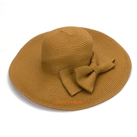 Floppy Sun Beach Hat For Lady Wide Brim Hat Wholesale Straw Hats