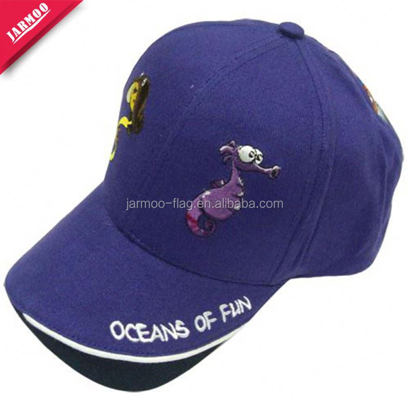 Textile Cheap white baseball cap with your brand logo