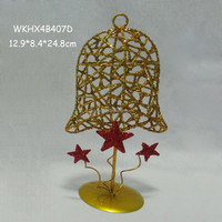 Small metal crafts tabletop decoration metal bell