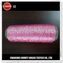 sequin thread cone knitting yarn for socks and underwear