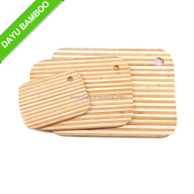 3 Piece Bamboo Cutting Chopping Board with Factory Price