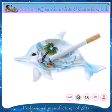 cute dolphin shape ashtray wholesale unique souvenir and gifts