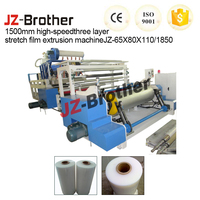 High-Speed Three Layer Stretch Film Extrusion Machine