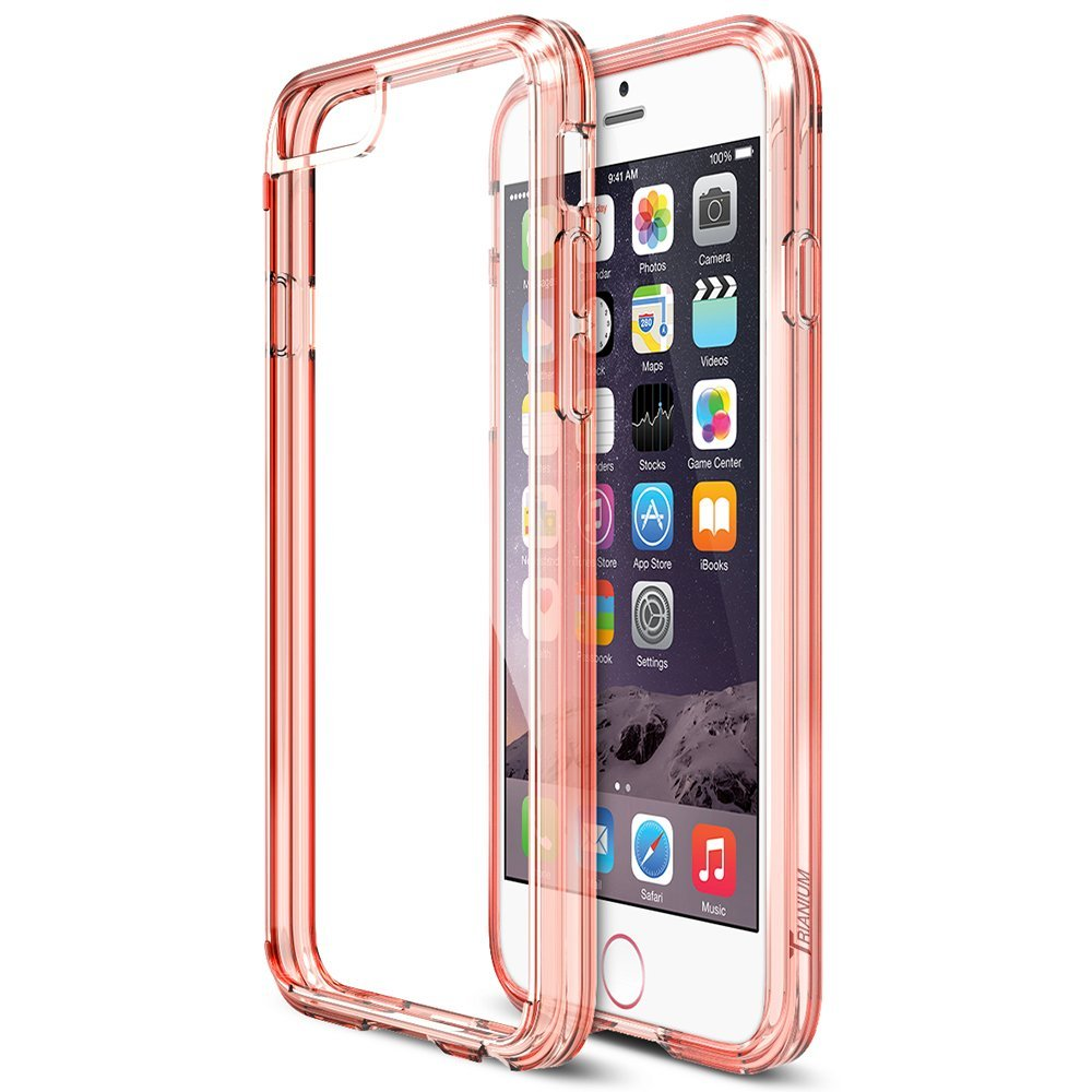 wholesale ultra thin clear crystal soft TPU case for iphone 7