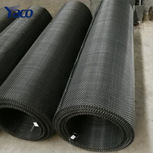 High Tensile 65Mn 45# steel wire Iron wire square Hole crimped wire mining screen <strong>mesh</strong>