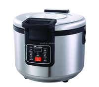 16L big capacity electric rice cooker commercial use with digital display control and CE