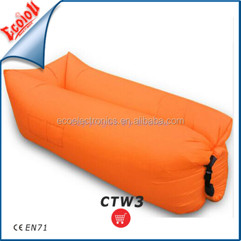camping nylon fabric inflatable laybag air sofa