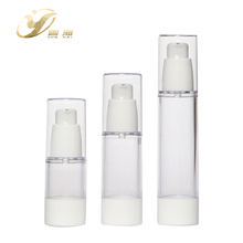 High end cosmetic yuyao airless plastic foam pump bottle