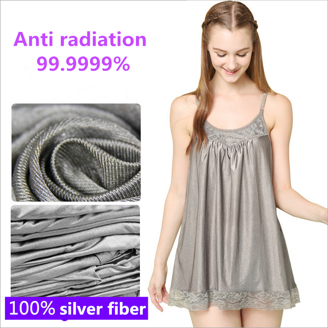 100% silver fiber anti radiation and radiation protection fabric for suit