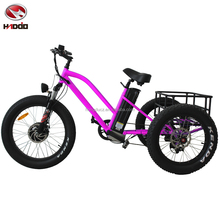 Family tour tricycle 3 wheel electric scooter for kids with pedal