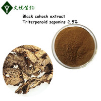 2017 hot sales black cohosh root extract Pharmaceutical grade