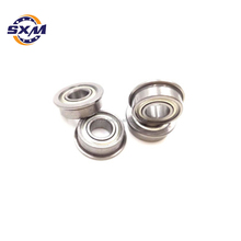 high quality double sealed miniature auto ball bearing flange micro ball bearing for 3d printer