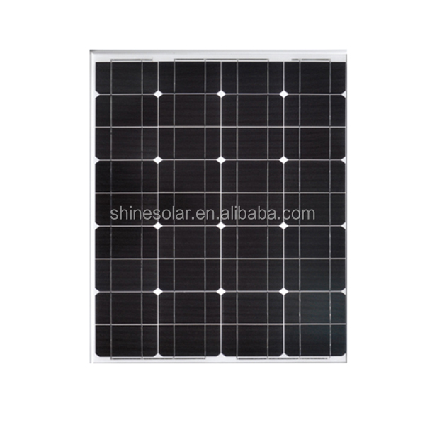 China manufacturer small size 70w dc 12v solar panel low price