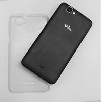 Ultra thin crystal clear case for wiko rainbow
