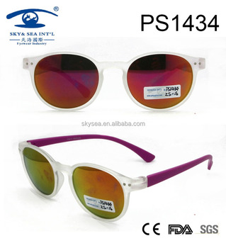 2017 white frame best seller new style PC sunglasses