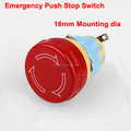 Waterproof momentary push button switch, Led switches, Emergency push button switch