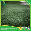 Football field Recycle Green TPE Rubber Granules for Artificial Grass System