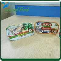 preserve food for 125g canned sardine fish in oil