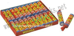 W026A Two colour thunder colourful flower firecracker