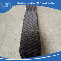 PVC black cooling tower fill, Industrial evaporative Cooling Tower fill pack