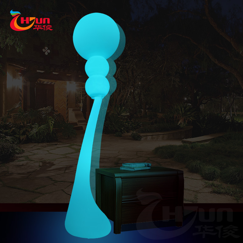 Modern elegant LED floor lamp for hotel & home decoration