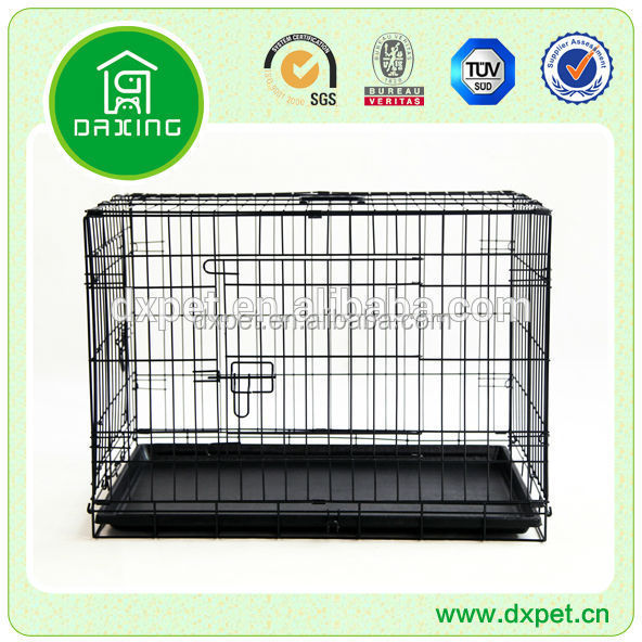 Large Stainless Steel Iron Wire Mesh Dog Cage Kennel House (4).jpg