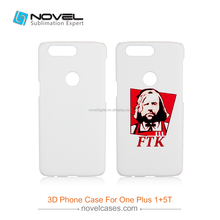 Mobile Phone Accessories Diy Blank Sublimation Phone Case For One Plus 5T
