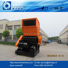 Plastic bottle shredder machine for recycle