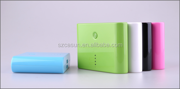 Shenzhen manufacturer promotional portable charger power bank 12000mah With logo printing for Christmas gift