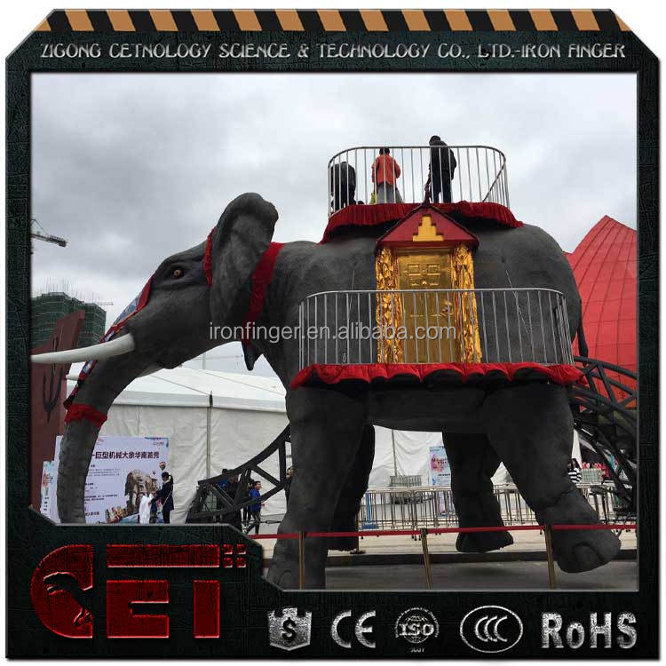 Cetnology- Giant Mechanical/Robotic Movable Elephant