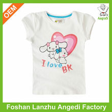 Cartoon baby clothes plus size wholesale t-shirts supplier in UAE