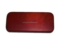 best selling real wood pen case, pen box with factory price