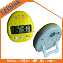 Animal shape cute chicken digital kitchen timer