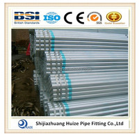 Hot dip galvanized steel pipe for scaffolding application