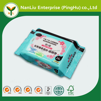 Female cleaning intimate hygiene wet wipes 24P (Professional baby wet wipes OEM/ODM)