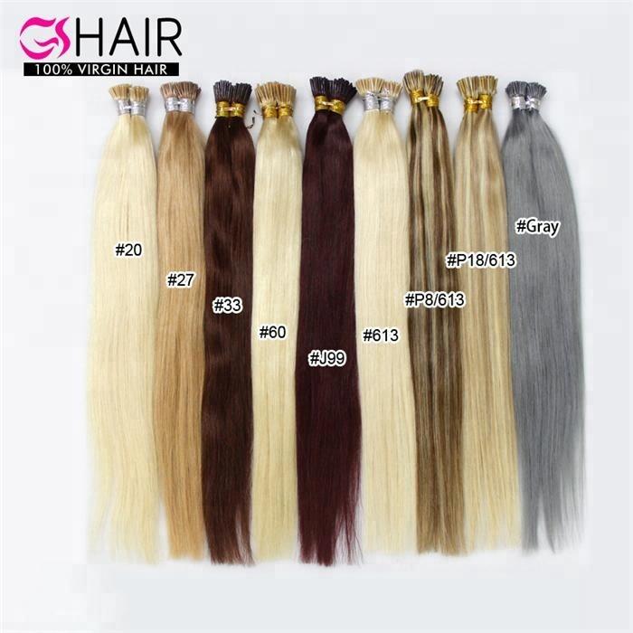 2019 Wholesale factory vrigin micro ring hair extensions I tip pre bonded 2  gram keratin human in dubai for blacks women 2ef7b6035e