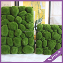high quality indoor decorative green artificial stone wall wholesale