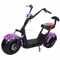 2017 hot sale powerful 1000w 60v citycoco 2 wheel electric mobility scooter electric bike