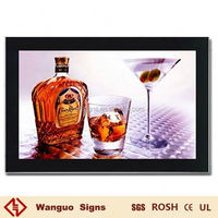 hot selling Aluminum Magnetic Suction Light Box