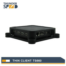 China Cheap Mini PC Station Thin Client TS660 Win CE 6.0 Embedded RDP 6.0 Protocol