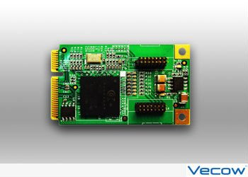 4-CH, D1, Real-time, Mini-PCI Express, Video Capture/Software Compression card