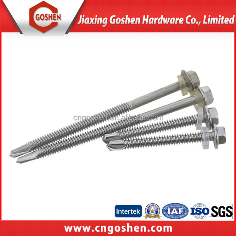 China supplier Galvanised Type self drilling screws