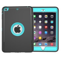 Leather Tpu Shockproof Cover Silicone 7 Inch Tablet For iPad Mini3