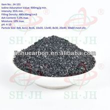 Car air freshener granular activated carbon