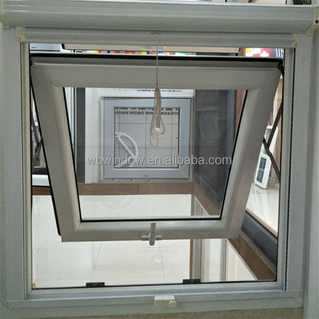 Vinyl Replace Windows,top hung window with roll up mosquito net
