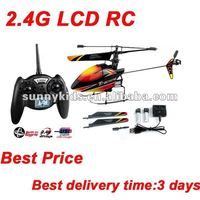 V911 Helicopter 2.4G RC Single Blade 4CH Mini Helicopter