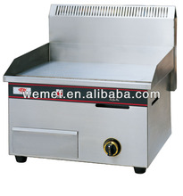 Industrial table top gas griddle