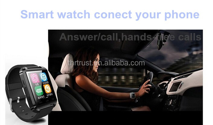 Bluetooth Smart Watch Wrist Watch U8 SmartWatch for SamsungS8
