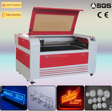 two heads 2mm stainless steel co2 laser cutting machine /engraving and cutting 6090/1325