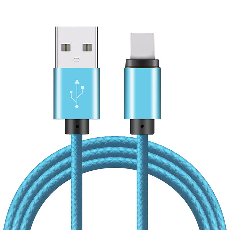 2016 100CM OD 4.0 electrical cable Micro USB/8 PIN light data cable for iPhone 5s 6 Plus iPadmini Samsung xiaomi mini cable usb